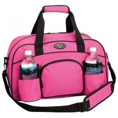 Womens Pink Tote Yoga Bag Sports Duffle Workout Gym Carry On Luggage Travel  Wate 2ad3bb2bf9