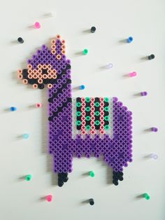 - Hama Llama – Hama Llama – - Counted Cross Stitch Pattern New York Rangers NHL Logo by dueamici Legend of Zelda Breath of the Wild Logo Cross Stitch Pattern Perler Bead Designs, Hama Beads Design, Diy Perler Beads, Perler Bead Art, Pearler Beads, Fuse Beads, Bead Embroidery Tutorial, Bead Embroidery Patterns, Beaded Embroidery