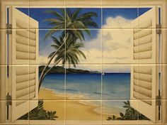 tropical themed bathrooms | Modern Furniture: Tropical living Room Decorating Ideas 2012 from HGTV