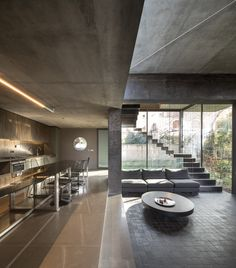 Contemporary decor with Concrete