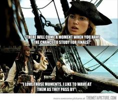 Captain Sparrow on finals…