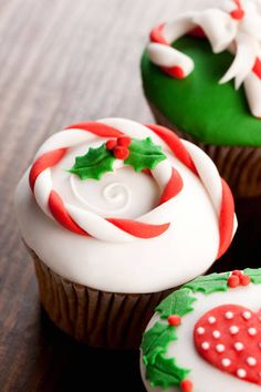 christmas cupcake 3