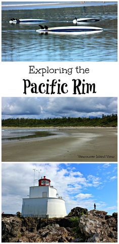 Are you planning a trip to either Tofino or Ucluelet? Here are the top things to see and do while out exploring the Pacific Rim on Vancouver Island's West Coast. Pacific Rim, Pacific West, Pacific Northwest, West Coast Trail, West Coast Road Trip, Victoria Vancouver Island, Visit Canada, Canada Travel, Canada Trip