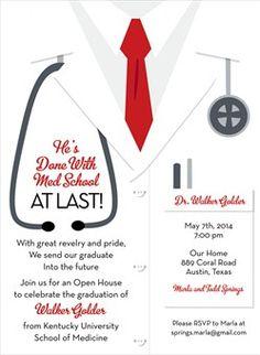 7 best medical invites images on pinterest grad parties