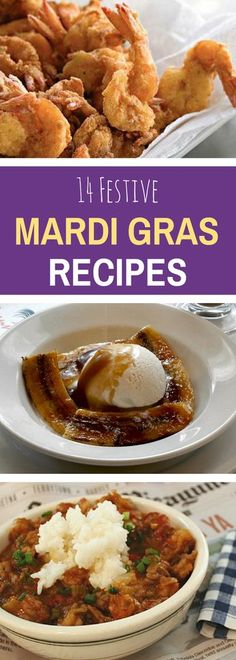 Can't make it to New Orleans for Mardi Gras? No worries! Bring the celebration home with 14 fun and festive Mardi Gras recipes inspired by The Big Easy. // AmericanProfile.com