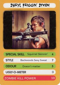 Demo for Top Trumps: The Walking Dead?!