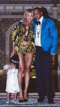 Blue, Jay-Z & Beyoncè
