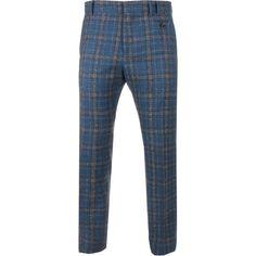 Vivienne Westwood Man Tone On Tone Micro Check Classic Trousers (1.600 NOK) ❤ liked on Polyvore featuring men's fashion, men's clothing, men's pants, men's dress pants, mens tartan plaid pants, mens slim fit pants, mens slim pants, mens zip off pants and mens 5 pocket pants