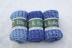 blå klut2 Knit Dishcloth, Washing Clothes, Diy And Crafts, Knit Crochet, Knitting Patterns, Wool, Beanie, Presenter, Lisa