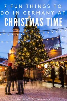 7 Fun things to do in Germany at Christmas