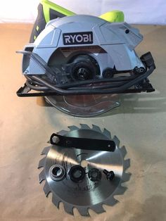 "Ryobi CSB135L 7-1/4"" 14 Amp circular saw, Tools, Home 03232017.19 #Ryobi"