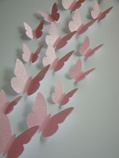 3D Butterfly Wall Art Baby Nursery Decor Adhesive Included.. Again with the butterflies, I love the 3 D element and it would be visual stimulation for the baby.