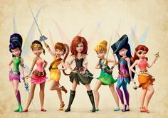 """First look at Disney's upcoming """"Pirate Fairy"""" with Christina Hendricks and Tom Hiddleston. GAHHHH!!! SO EXCITED!!!"""