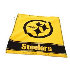 NFL Pittsburgh Steelers Woven Golf Towel by Team Golf. $16.99. NFL Pittsburgh Steelers Woven Golf Towel