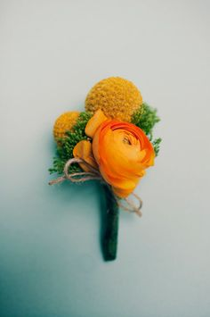 I really like this boutonniere