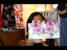 Urban Decay Electric Pallete GIVEAWAY July 8, 2014