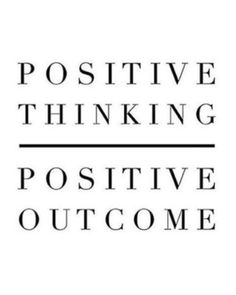 It can only be this way! Every POSITIVE outcome will matter, no matter how small!