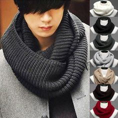 fashion lovers scarves  in the fall and winter of 2013  Pure color warm 100% cotton knit scarf for men and women $6.00