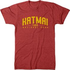 Katmai National Park Mens Tri-blend T-Shirt