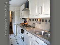 Grey And White Galley Kitchen 21 best small galley kitchen ideas | galley kitchens, white