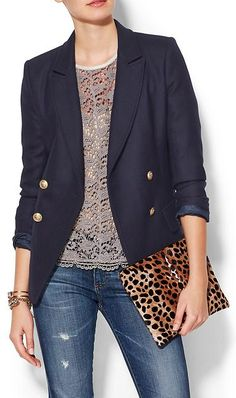 gold buttoned blazer http://rstyle.me/~41M8b