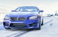2014 BMW M6, BMW M6 Gran Coupe, BMW M6 wallpaper, Blue BMW M6