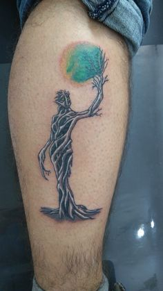 tree tattoo design color tattoo