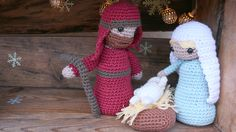 crochet pesebre/christmas set by lanas y ovillos (with pattern)