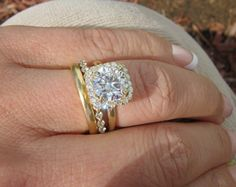 plain band halo ring   Visit luckky's thread for more pictures: After I've been waiting and ...