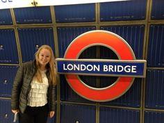Underground station of London Bridge!