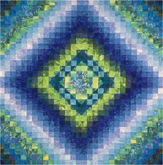 Quilt Inspiration: Color Play by Joen Wolfrom: Class review