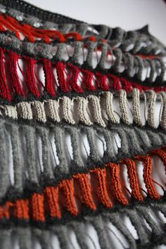 Bradford Competition - Knitwear Samples. by Kirsty Eva Munro, via Behance