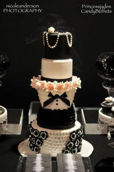"Photo 1 of 22: CHANEL inspired / Birthday ""MY CHANEL THEMED 40TH BIRTHDAY"" 