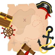 חפש את המטמון פיראטים Pirates, Birthdays, Greeting Cards, Invitations, Paris, Flowers, Movie Posters, Anniversaries, Montmartre Paris