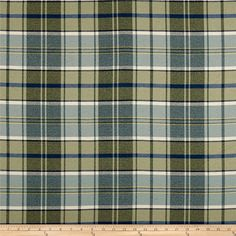 This olefin and polyester blend twill fabric is yarn dyed and perfect for stylish jackets, dresses, skirts and window treatments. Colors include white and shades of blue and green.