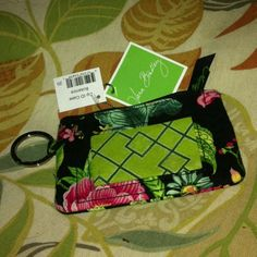$2.99 brand new Vera Bradley Botanical ID case with tags. Found at Goodwill.