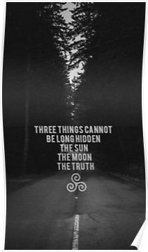 If life has taught me anything it's this.....The Sun The Moon The Truth Poster