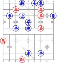 Red first. Win Draw or Lose? Can you try it? #chess #xiangqi #chinesechess #midendgame Đỏ tiên. Thắng Hòa hay Thua? Mời bạn thử sức? Trích từ: Thích Tình Nhã Thú Tàn Cục Fen: 3k1ae2/2R3H2/1r1a2R1e/4p4/2p1c1P2/9/H8/9/4r1p2/3K5 Answer: http://ift.tt/2bxYe3n