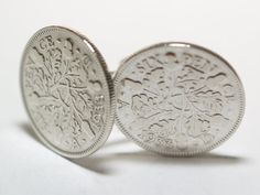 1933 Sixpence Cufflinks 81st birthday. by OldCoinCufflinks, $22.99