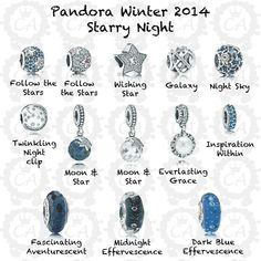 PANDORA Winter / Christmas Collection 2014 Preview - Starry Night