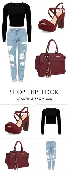 """""""Untitled #1"""" by selma-366 ❤ liked on Polyvore featuring New Look, Forever New, Rebecca & Rifka and Topshop"""