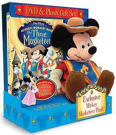 The Three Muskateers - DVD & Plush Gift Set (DVD)