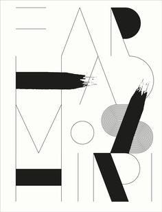 Farhad Moshiri monograph logo - homework