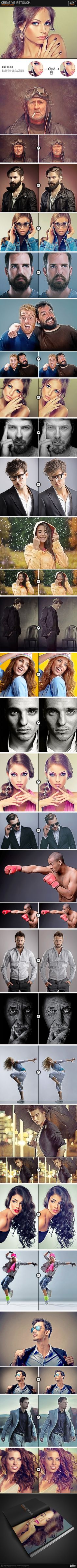DOWNLOAD:  https://goo.gl/aYFCfr  Creative Retouch Make your photos look perfect with Creative Retouch photoshop action!   Files Includes: ATN File, Help PDF  Compatibility: Photoshop CS3, CS4, CS5, CS6, CC+