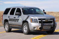 2012 Chevy Tahoe Sheriff
