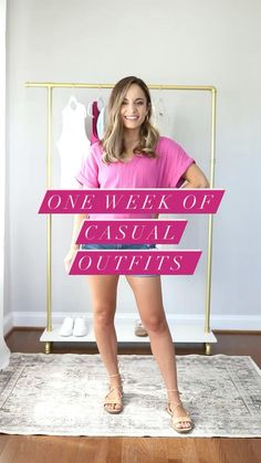 Casual Mom Outfits, Comfortable Summer Outfits, Casual Mom Style, Summer Outfits For Moms, Cute Outfits, Diy Clothes And Shoes, Kinds Of Clothes, Teen Fashionista, Petite Fashion Tips