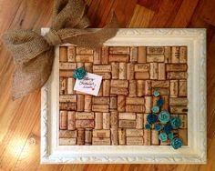 Homemade pin board a Christmas gift!