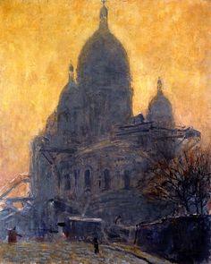Sacré-Cœur - Morning / Kees Van Dongen - 1904