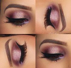 Maquiagem pálpebra luz por  Priscila Braga! Visite meu blog!