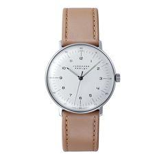 Max Bill Numbers Watch, Tan | Cooper-Hewitt Shop